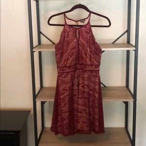 Red Lace ALine Dress
